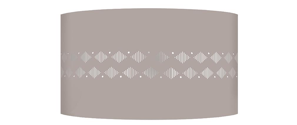 Applique murale design métal taupe SMART