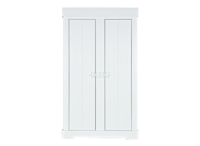 Armoire design en bois blanc THAIS