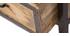 Armoire industrielle métal et bois de manguier INDUSTRIA