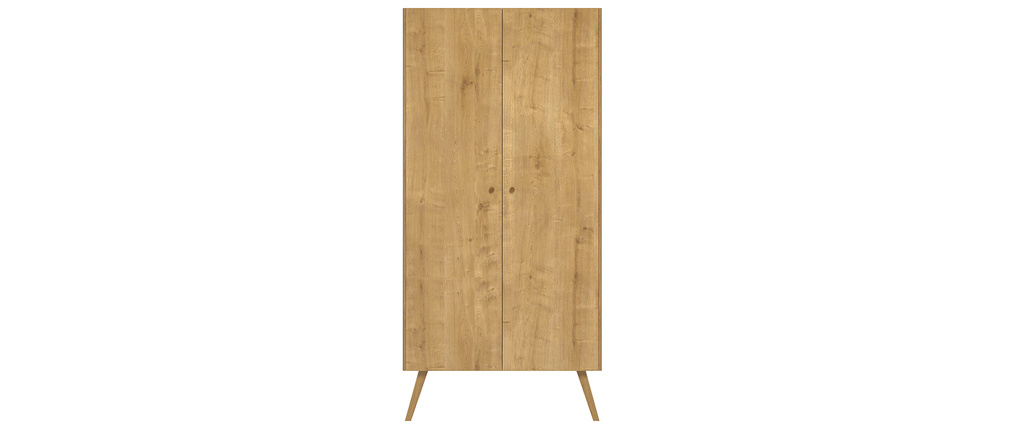Armoire scandinave finition chêne clair MAHE