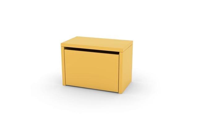 banc de rangement enfant jaune ludik miliboo. Black Bedroom Furniture Sets. Home Design Ideas