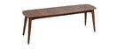 Banc vintage noyer L130 cm NORDECO