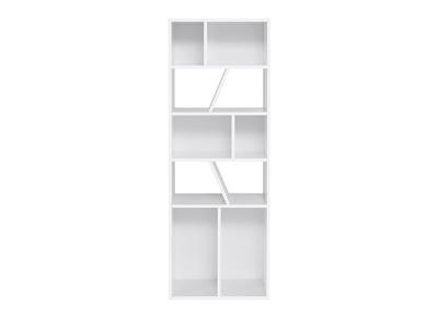 bibliotheque design blanche 60 cm azteque miliboo stephane plaza