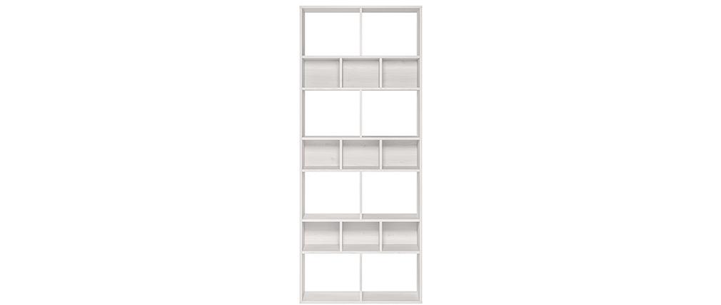 Bibliothèque design blanche DEAN