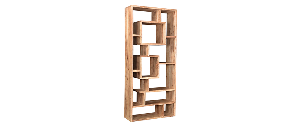 Bibliothèque design en acacia 80 cm CHAPMAN