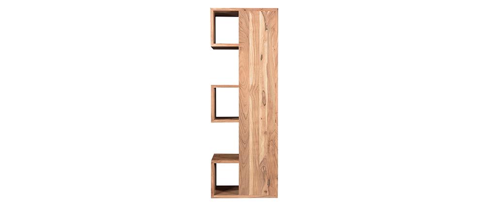 Bibliothèque design en acacia massif L60 cm CHAPMAN