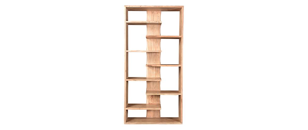 Bibliothèque design en bois d