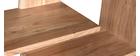 Bibliothèque design en bois d'acacia massif 88 cm CHAPMAN