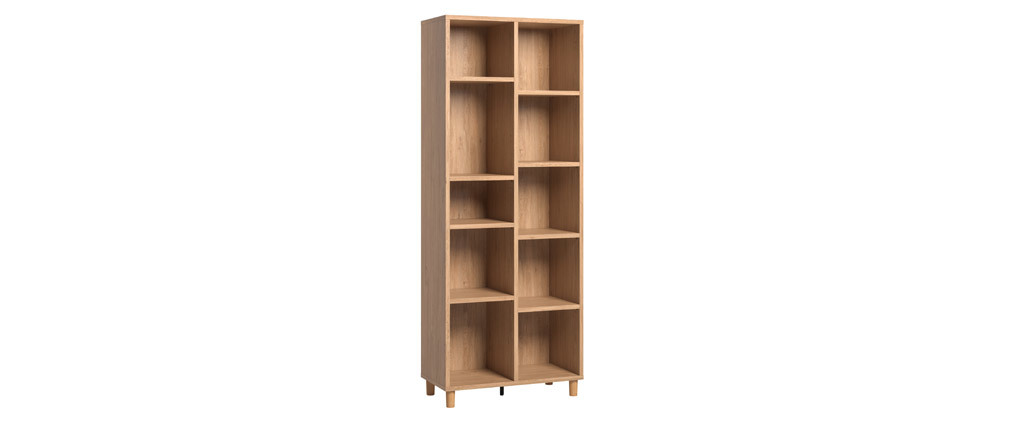 Bibliothèque design en chêne JIM