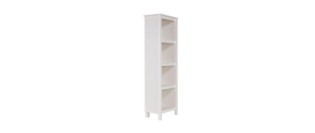 biblioth que design en pin blanc gow miliboo. Black Bedroom Furniture Sets. Home Design Ideas