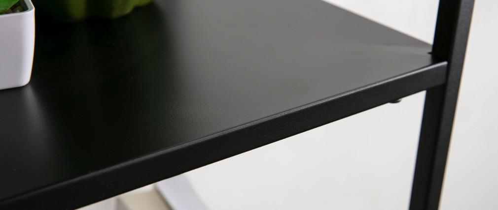 Bibliothèque design métal noir ZEPPELIN