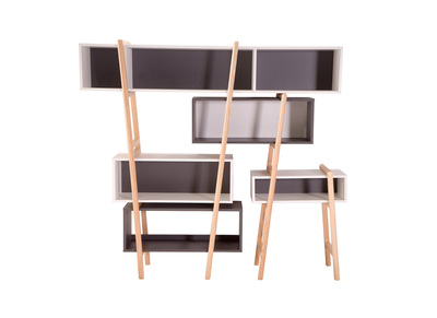 soldes meubles biblioth ques et tag res murales miliboo. Black Bedroom Furniture Sets. Home Design Ideas