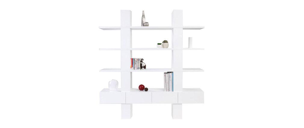 Prix des etag re 2 - Bibliotheque blanche laquee ...