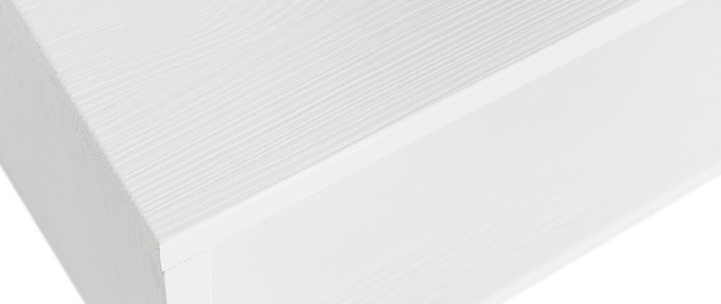 Bibliothèque étagère en pin blanc DETTO