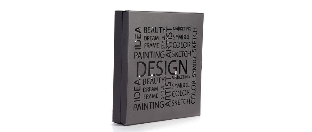 bo te cl s design noir first miliboo. Black Bedroom Furniture Sets. Home Design Ideas