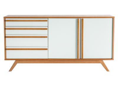 buffet cuisine ou salon design et pas cher miliboo. Black Bedroom Furniture Sets. Home Design Ideas
