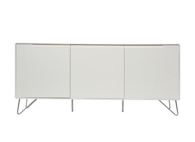 Buffet design 3 portes blanc mat ILLIA