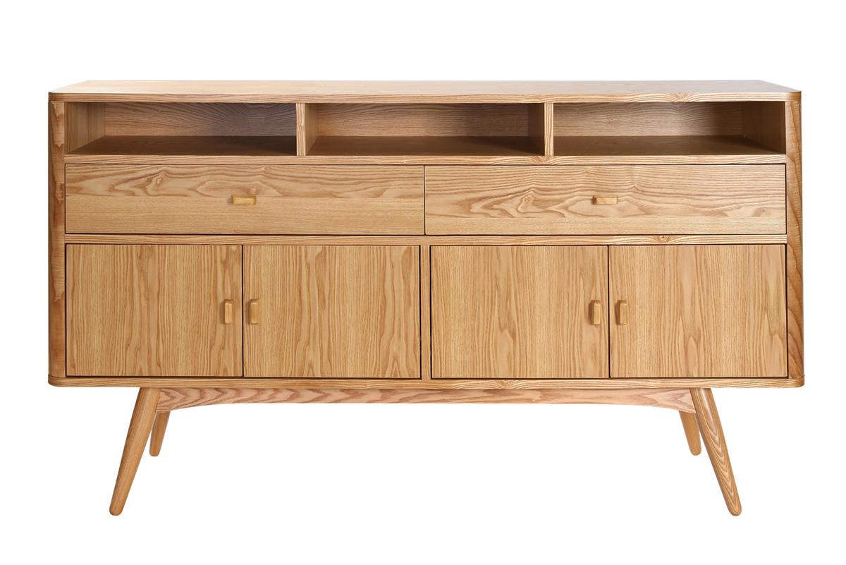 buffet design 4 portes fr ne nordeco. Black Bedroom Furniture Sets. Home Design Ideas