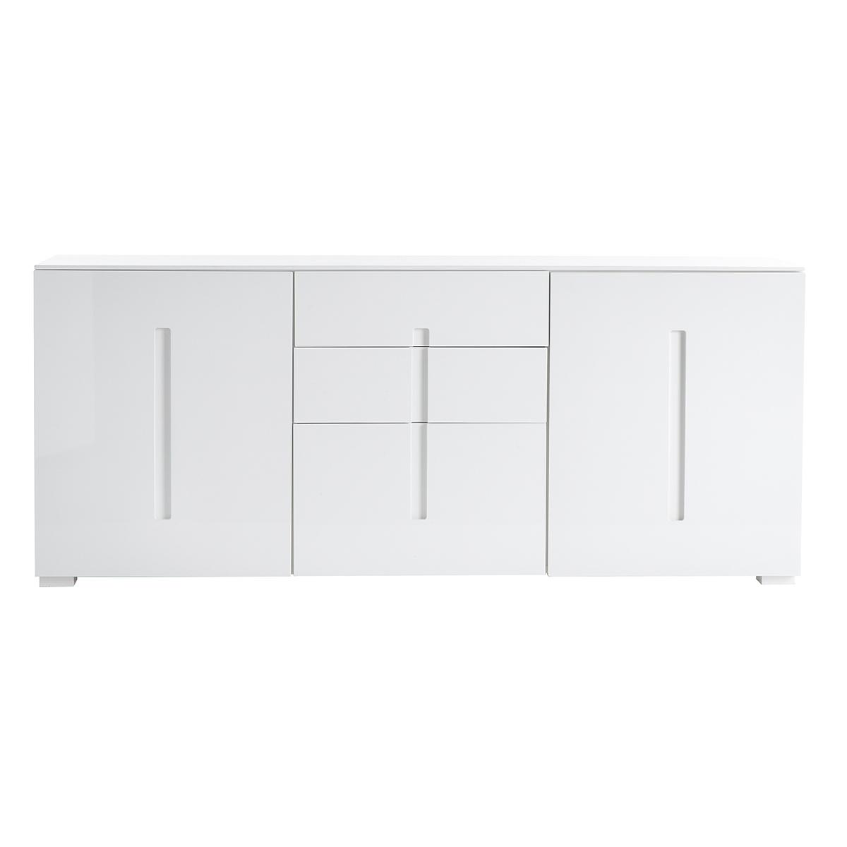 Buffet design blanc laqué 720d5358dbb6