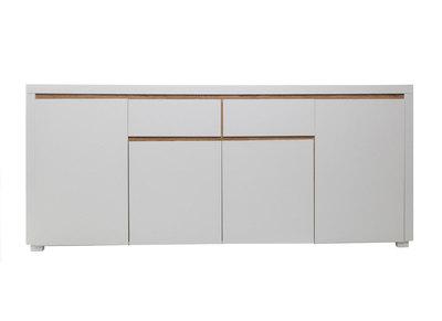 Buffet design blanc mat SIGRID