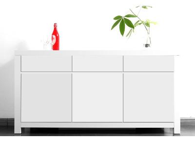 Buffet design blanc WIL