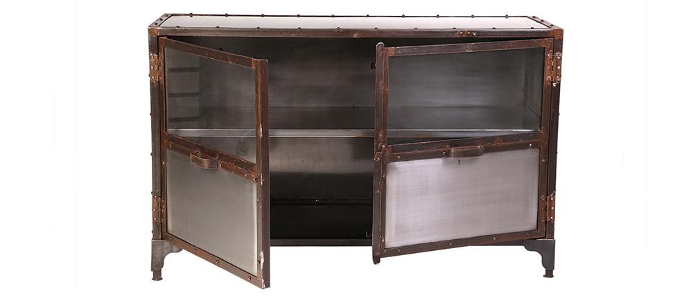 Buffet métal industriel 2 portes FACTORY
