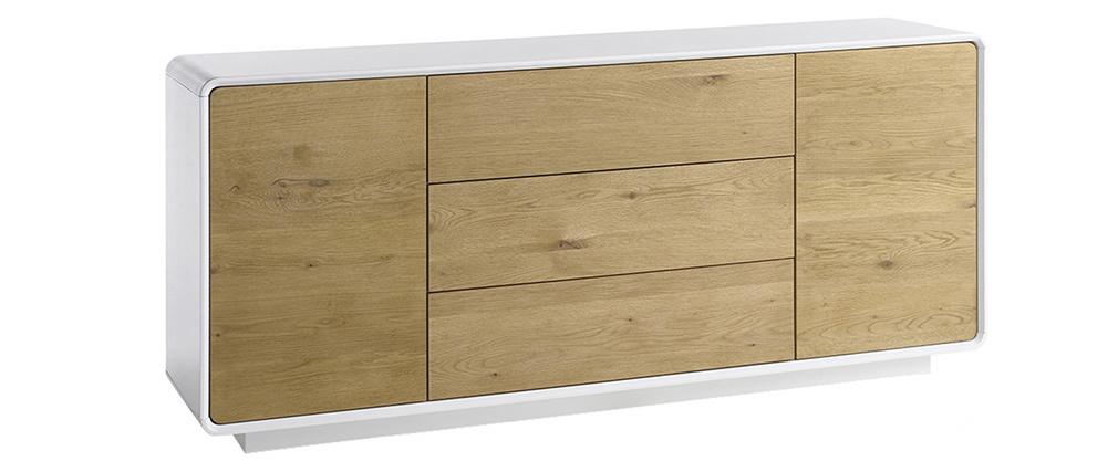 Buffet scandinave bois et blanc UMA
