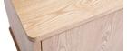 Buffet scandinave frêne avec portes et tiroirs L160 cm FIFTIES