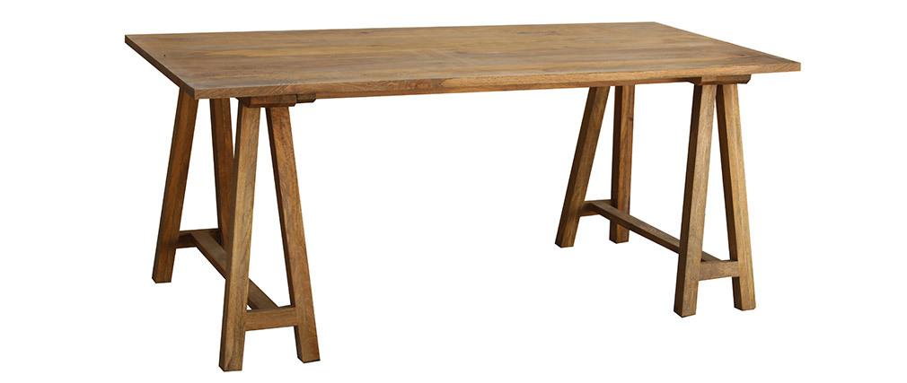 Bureau bois de manguier L180 cm ANTIQUA