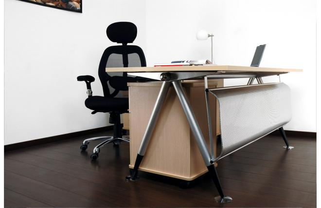 Bureau de direction ariane caisson 3 tiroirs et meuble de for Meuble rangement tiroir bureau