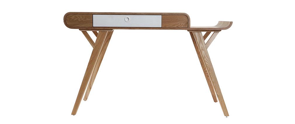 Bureau design 120cm frêne KYOTO