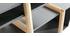 Bureau design blanc, gris et bois WOOD TANG