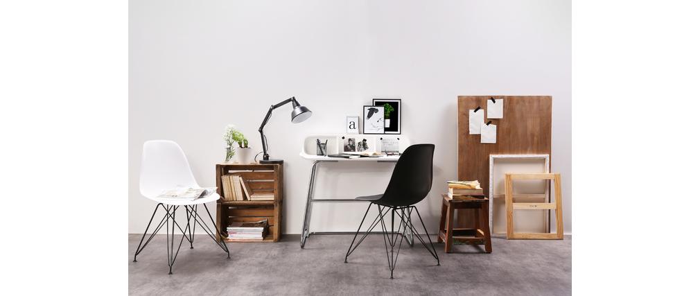 Bureau design blanc SMILE V2