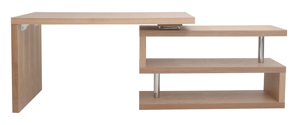 Bureau Design Bois Amovible Max : Bureau design bois amovible MAX, aspect technique :