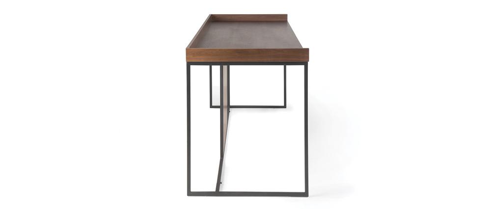 Bureau Design Bois Metal : Bureau design bois et m?tal KARO ( Ce produit n'est plus