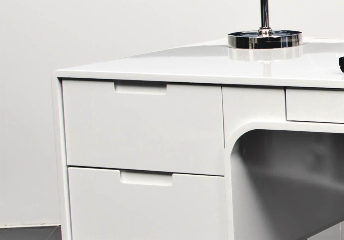 Pour tout achat compris entre 100 00 et 2000 00 vous - Bureau design laque blanc ...