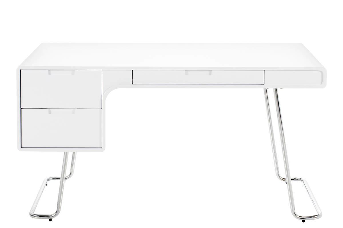 Design guide d 39 achat - Bureau laque blanc brillant ...