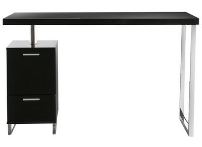 Bureau console 2 tiroirs laque mat for Designer schreibtische shop