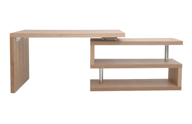 Bureau design modulable bois max miliboo