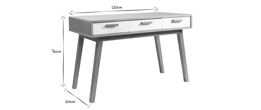Bureau design scandinave HELIA