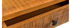 Bureau en manguier massif 3 tiroirs CHENY