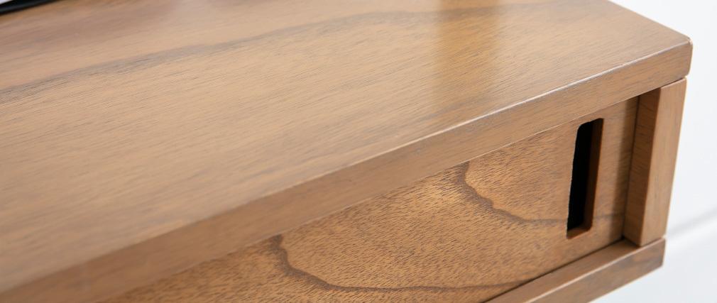 Bureau - étagère bois et métal noir MARLEE - Miliboo & Stéphane Plaza