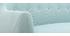Canapé 2 places design déhoussable menthe à l'eau YNOK