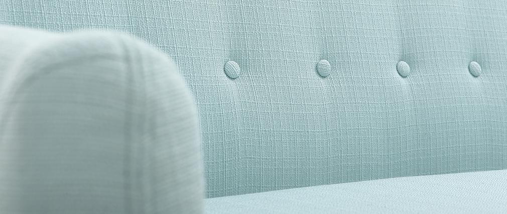 Canapé 3 places design déhoussable menthe à l