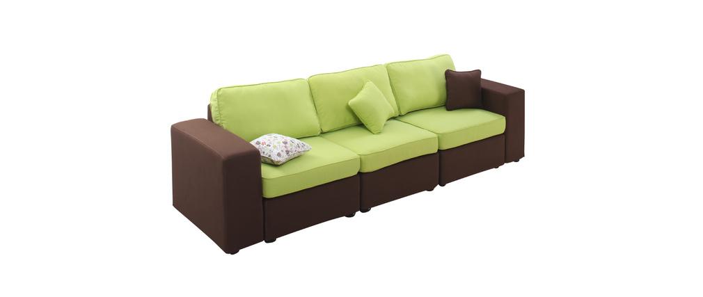 106 canape vert anis fly plaid microfibre vert anis achat vente couverture canap convertible. Black Bedroom Furniture Sets. Home Design Ideas