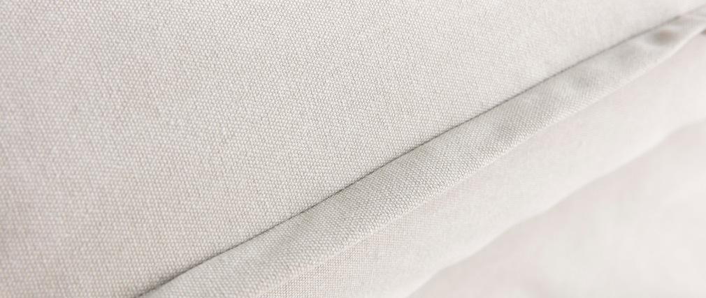 Canapé convertible déhoussable en coton beige ALDO