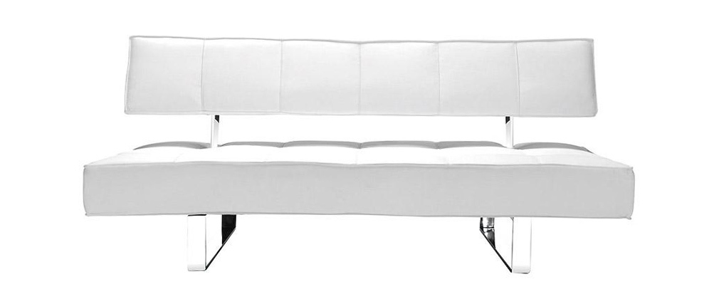 Canapé convertible design blanc BROADWAY