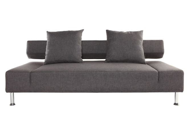 canap convertible design gris 3 places milano miliboo. Black Bedroom Furniture Sets. Home Design Ideas