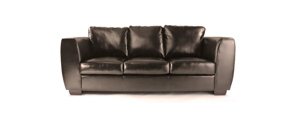 canap cuir marron 3 places chicago cuir de buffle miliboo. Black Bedroom Furniture Sets. Home Design Ideas
