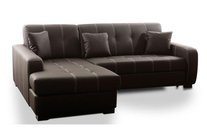 Canapé d angle convertible 2 à 3 places angle gauche